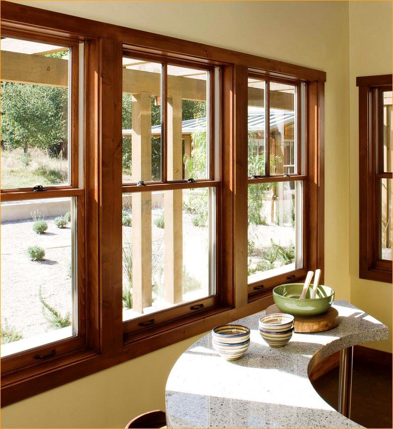 Charmant Wood Window 1